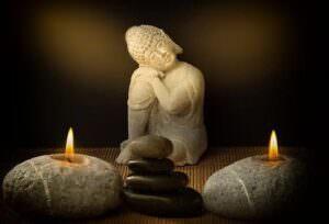 مدیتیشن با شمع
