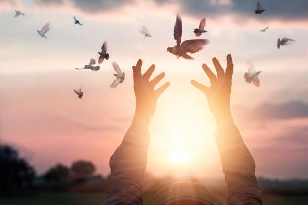 مدیتیشن ارتباط با روح راهنما