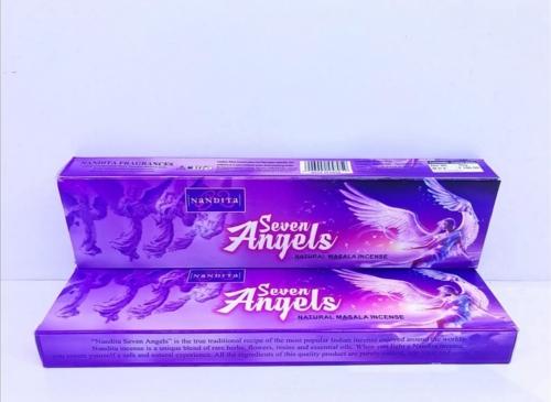 عود مدیتیشن هفت فرشته seven angels برند ناندیتا