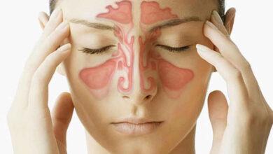درمان سینوزیت با یوگا
