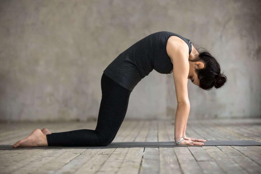 یوگا برای کاهش استرس